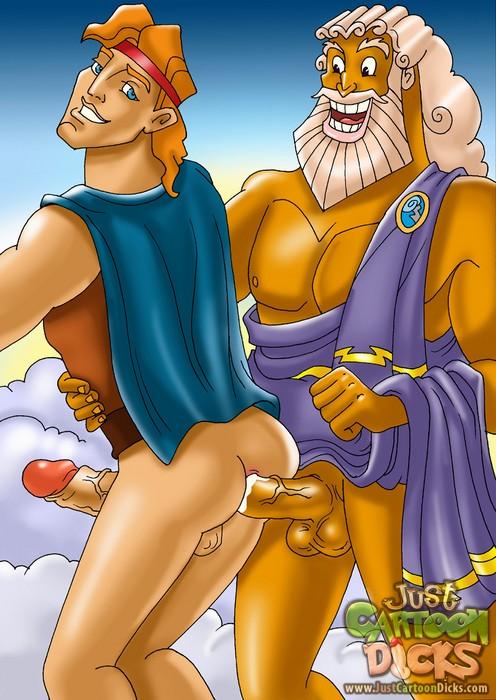 Cartoon gay sex - Hercules for high gays - Gay Sex Cartoons