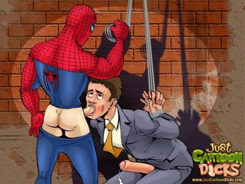 Free gay comics – Spider-Man hardcore fucking