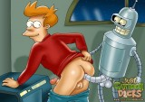 Futurama Gay Secrets - Futurama Gays Gay Sex Cartoons