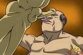 Businessman accepts a little oral - Gay blowjobs Gay Sex Comics