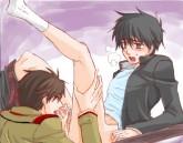 Tied up pleasure of gays - Gay Hentai