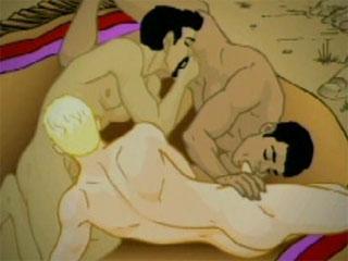Gay Sex Toons