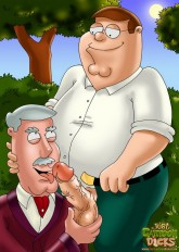 Peter Griffin as gay adult toons - Family Guy Gay