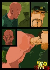 Rough sex warrior - Gay anal sex